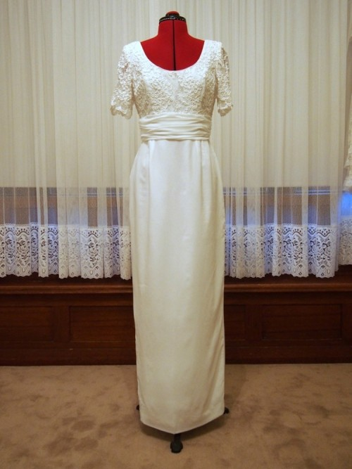 annabelle vintage wedding dress