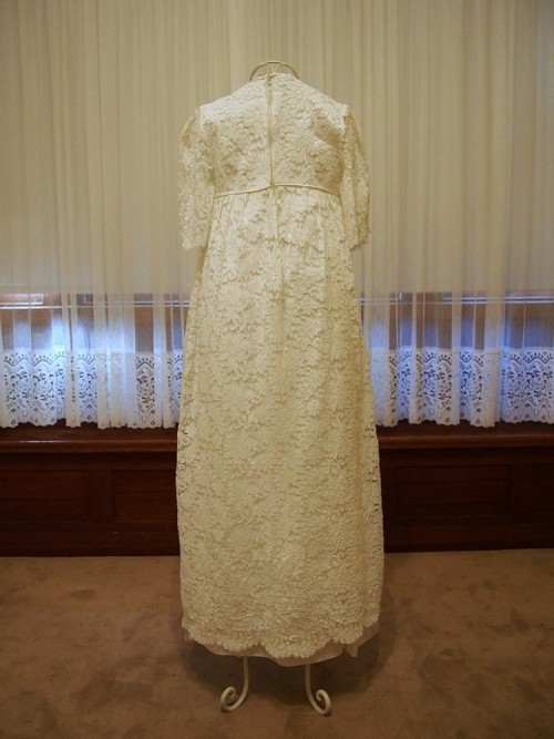 austen vintage wedding dress