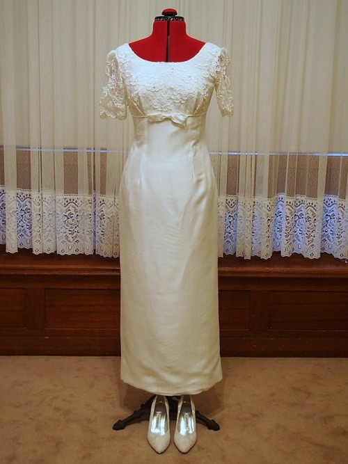 audrey vintage wedding dress