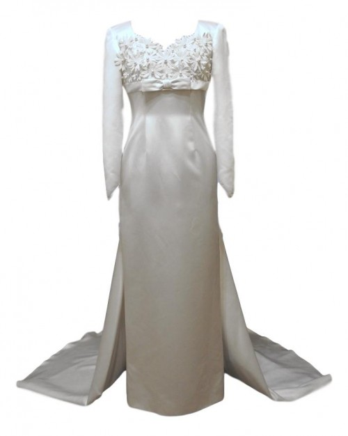 penny vintage wedding dress