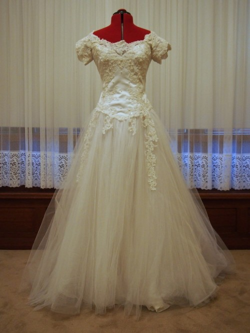 emmeline vintage wedding dress