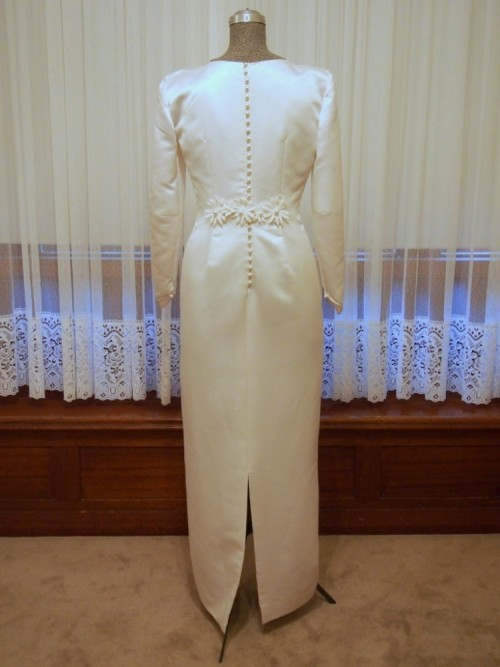 penny vintage wedding dress