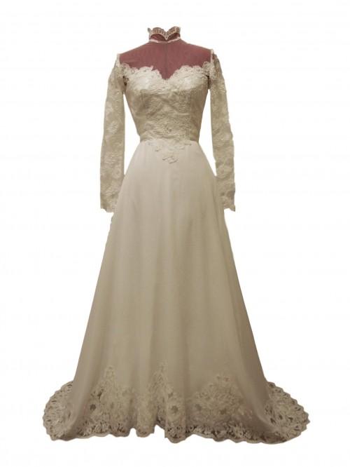 georgiana vintage wedding dress