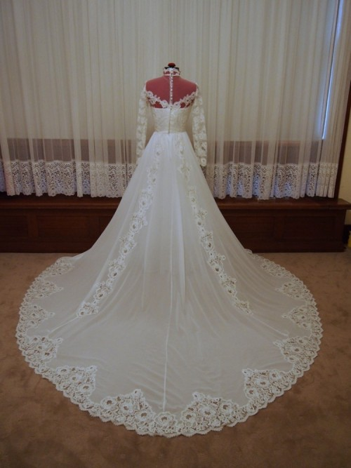 georgiana vintage wedding dress