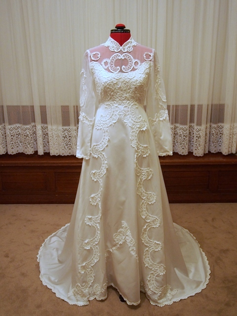 adelaide vintage wedding dress