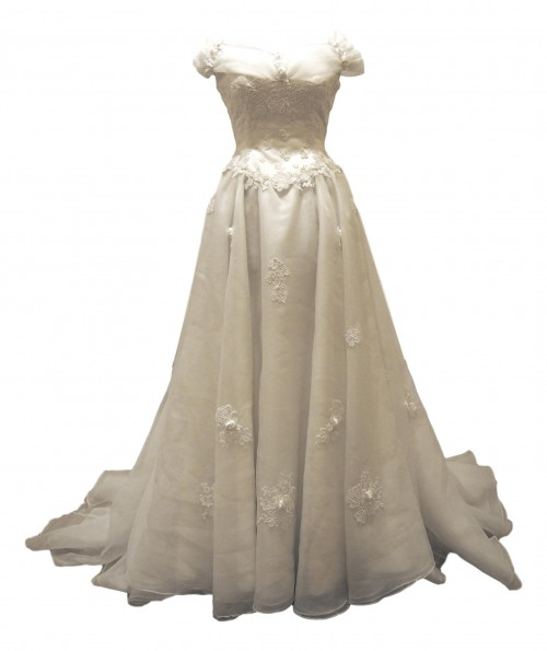 belle vintage wedding dress