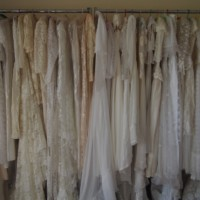 vintage wedding dress store