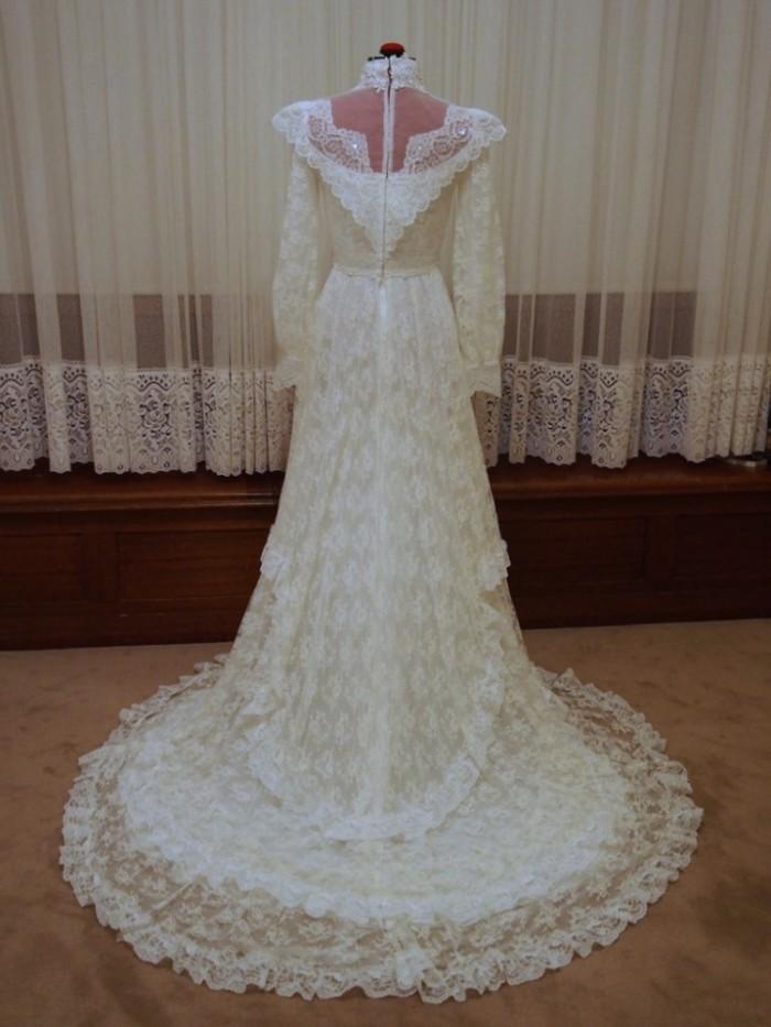 charlotte vintage wedding dress