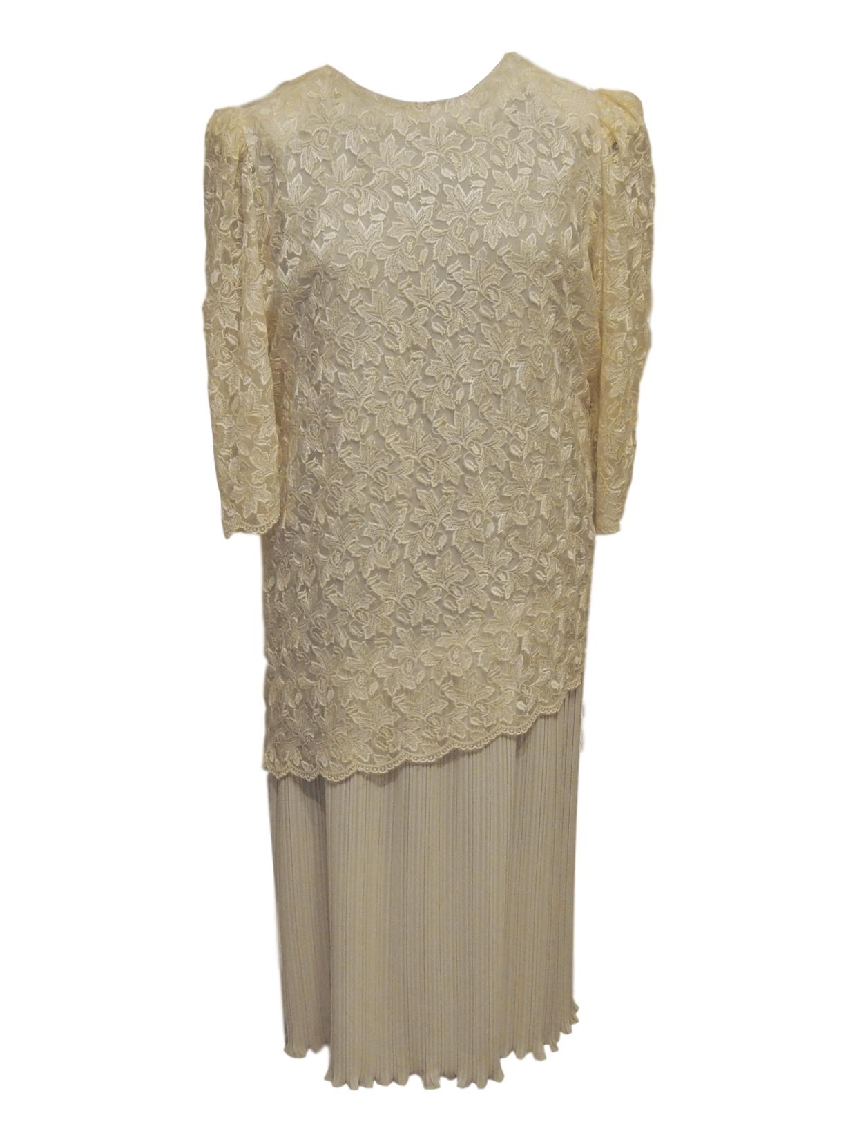 lucille vintage wedding dress