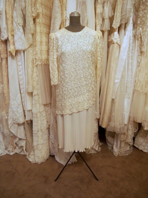 lucille vintage wedding dress