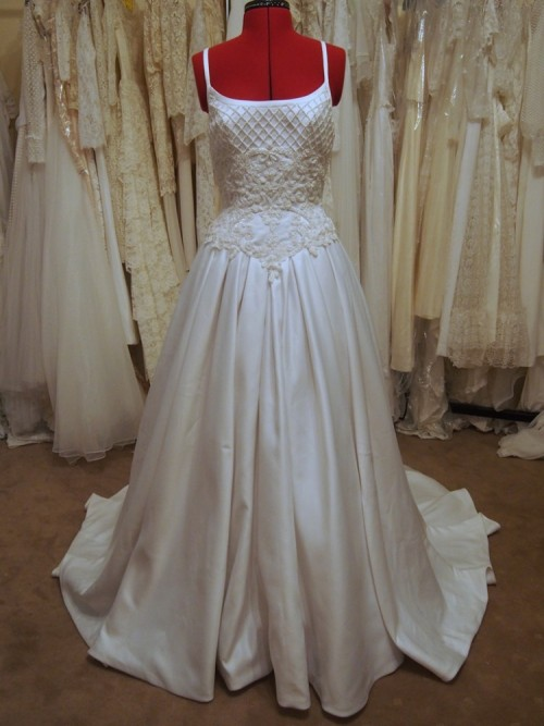 zoe vintage wedding dress