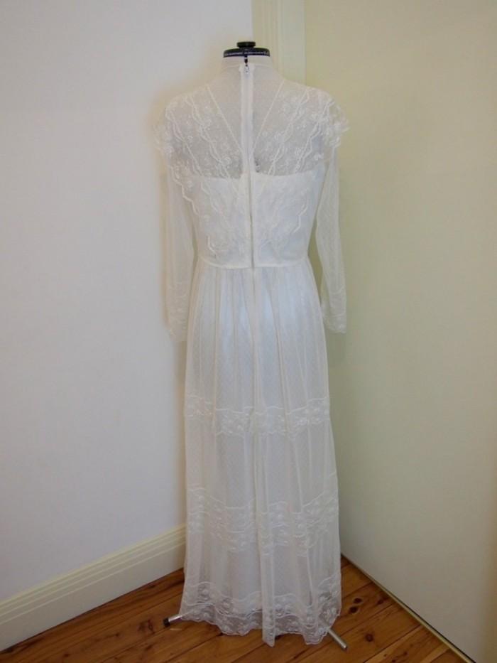 connie vintage wedding dress
