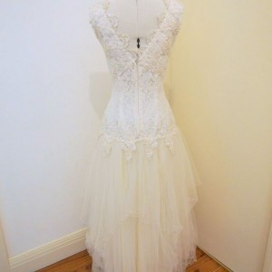 tulle lace vintage wedding dress