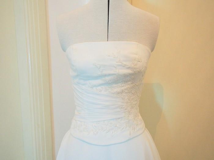 modern vintage wedding dress