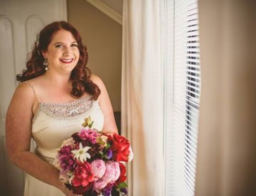 Vintage Aisle Real Bride – Clare