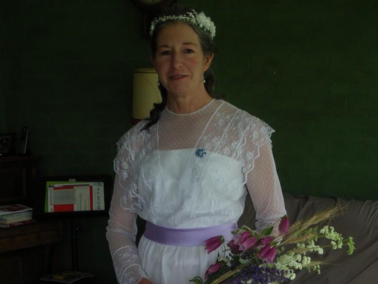 maggie vintage wedding dress