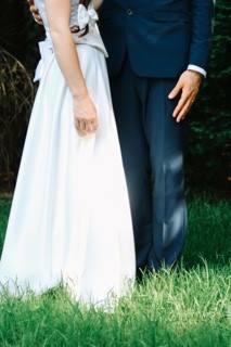 Vintage Aisle Real Bride Abi